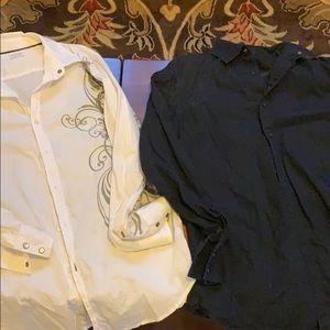 Men's apt9 button down shirts
